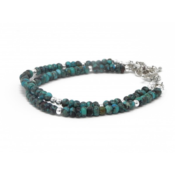 The Purification Bracelet- Turquoise December Birt...