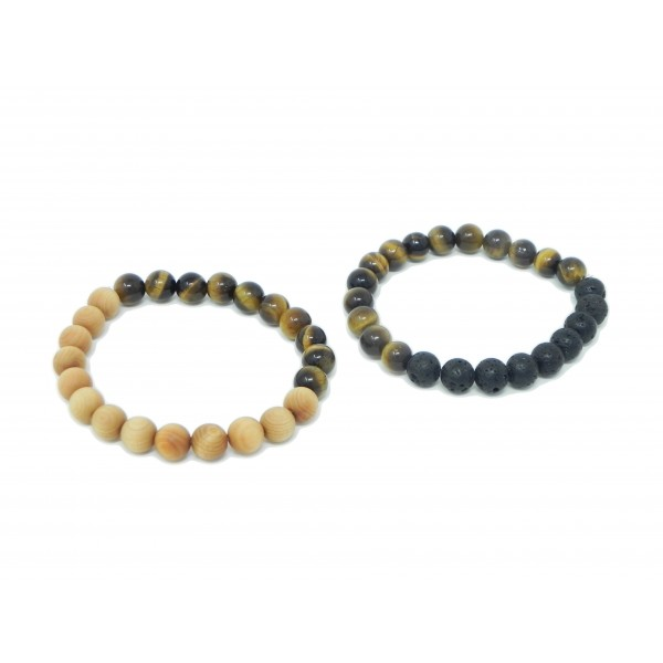 Tigers Eye Bracelets for Confidence Boost and Intuition
