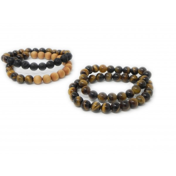Tigers Eye Bracelets for Confidence Boost and Intu...