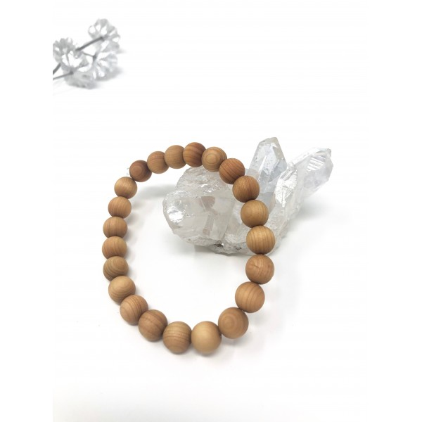 Scented Sandalwood Stretch Bracelet