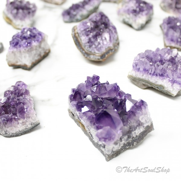 Enlightenment and Wisdom Amethyst Cluster for Home...