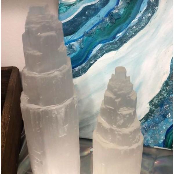 Selenite Crystal Towers