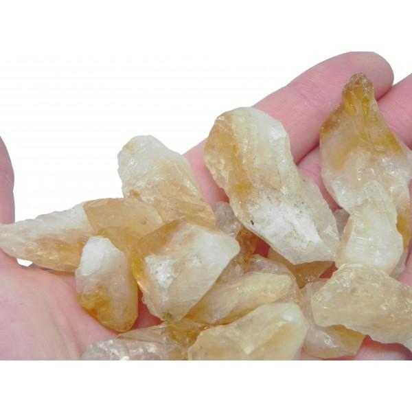 Happiness Stones- Raw Citrine Crystals