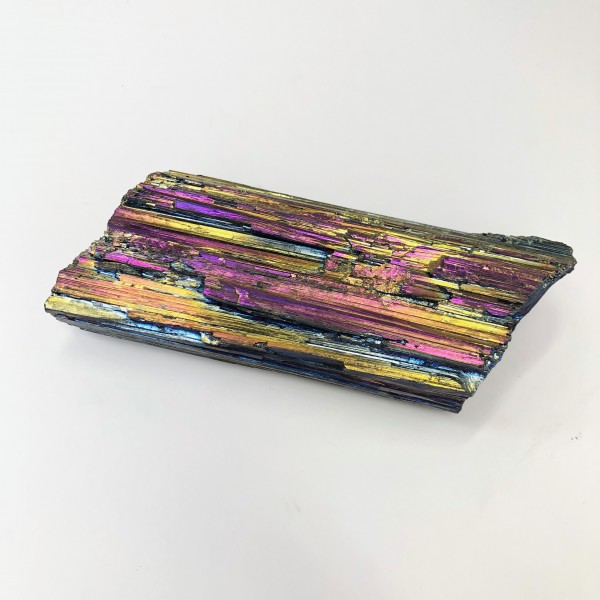 Rainbow Aura Black Tourmaline