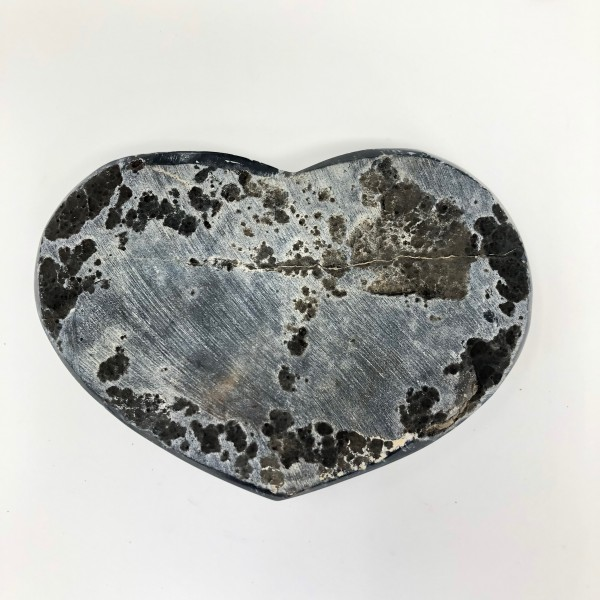 Large Display Aura Amethyst Heart for Peace, Protection and Enlightenment