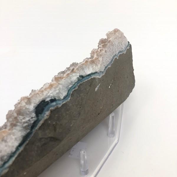 Unique Large Natural Druzy Quartz Crystal