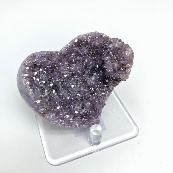 Aura Amethyst Heart 3