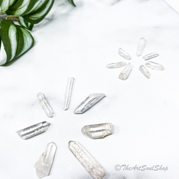 Master Healing Lemurian Quartz Point for Mediation Energy Uplifting and Cleansing