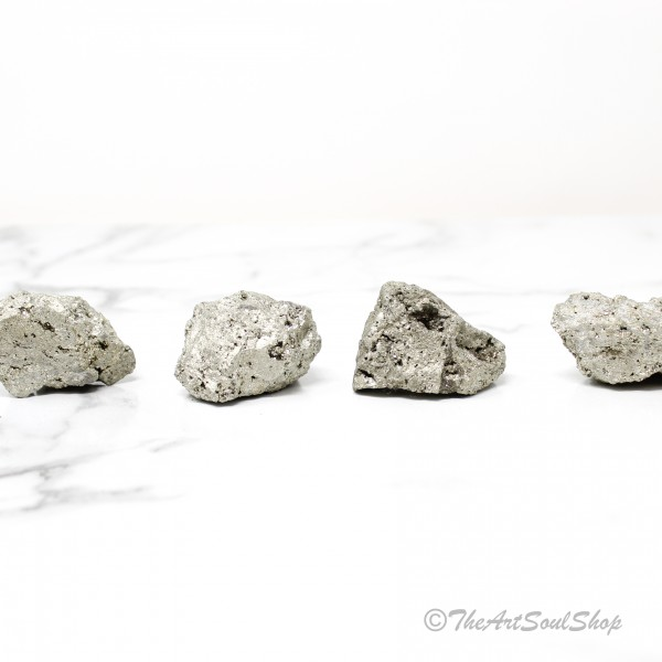 Pyrite Crystal for  Shielding Energy Strength and Will Power Meditation and Decor