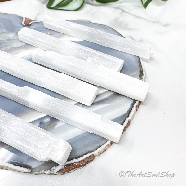 Clearing Wand Selenite Crystal