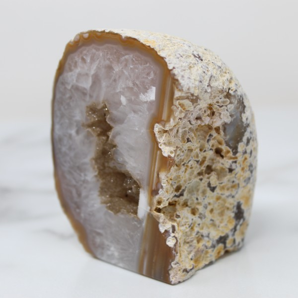 Agate Druzy Geode Display Cave For Grounding and Breakthroughs