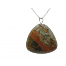 The Nurturing Necklace Jasper Stone with Sterling ...