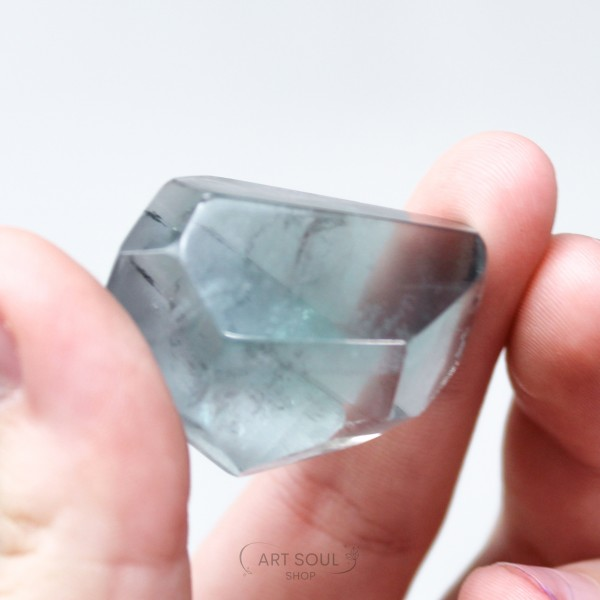 Fluorite for Heart and Mind Clarity and Focus Polished Freeform Multi Faceted