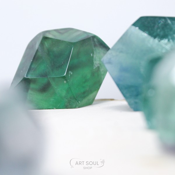 Fluorite for Heart and Mind Clarity and Focus Poli...