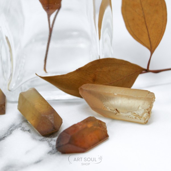Natural Citrine Happiness, Energy, Optimism, Wealth Stones Polished Raw Points Real Citrine